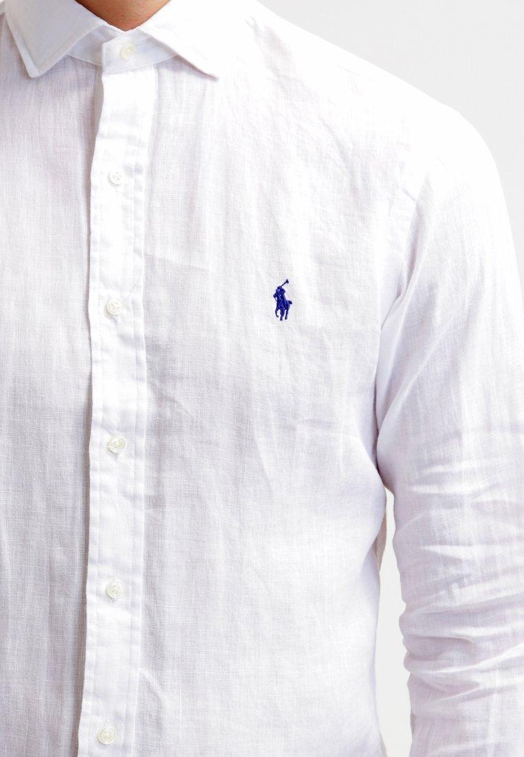 4000b32830301b RALPH LAUREN Chemise lin blanche slim - 710595956005 , Chemises pour ...