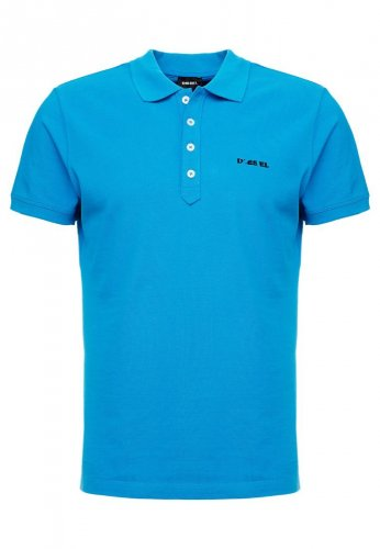 Polo turquoise manches courtes