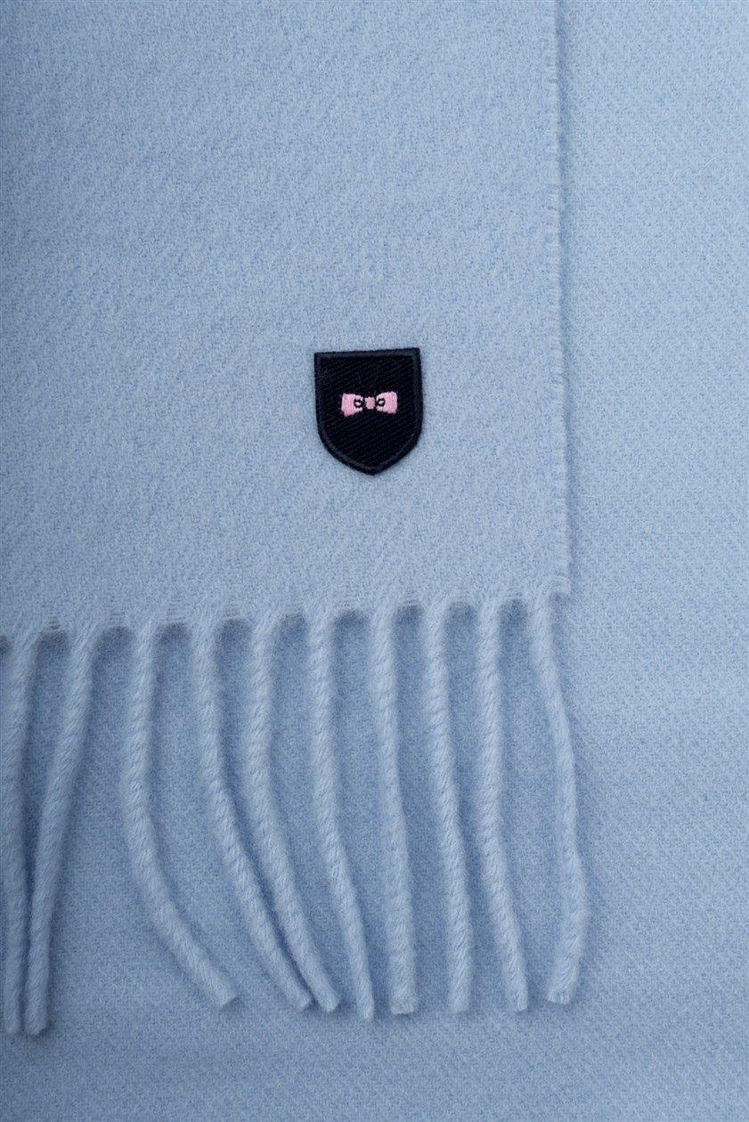 EDEN PARK Echarpe en laine bleu - 68ACTECE0001 , Echarpe pour Homme 844be129ac9