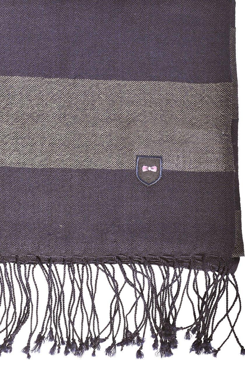 EDEN PARK Echarpe rayé gris - 67ACTECE0012 , Echarpe pour Homme 82a39b3199d