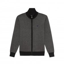 Cardigan noir Oxford golf