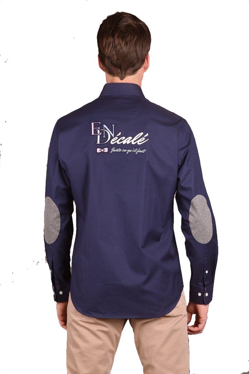 eden park chemise d cal marine 66cheche0002 chemises pour homme. Black Bedroom Furniture Sets. Home Design Ideas