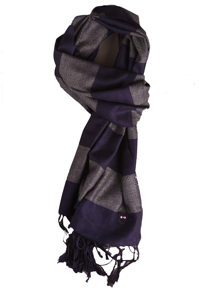 EDEN PARK Echarpe rayé marine en laine - 67ACTECE0012 , Echarpe pour ... f571a6d09b8