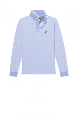 Polo Oxford ciel