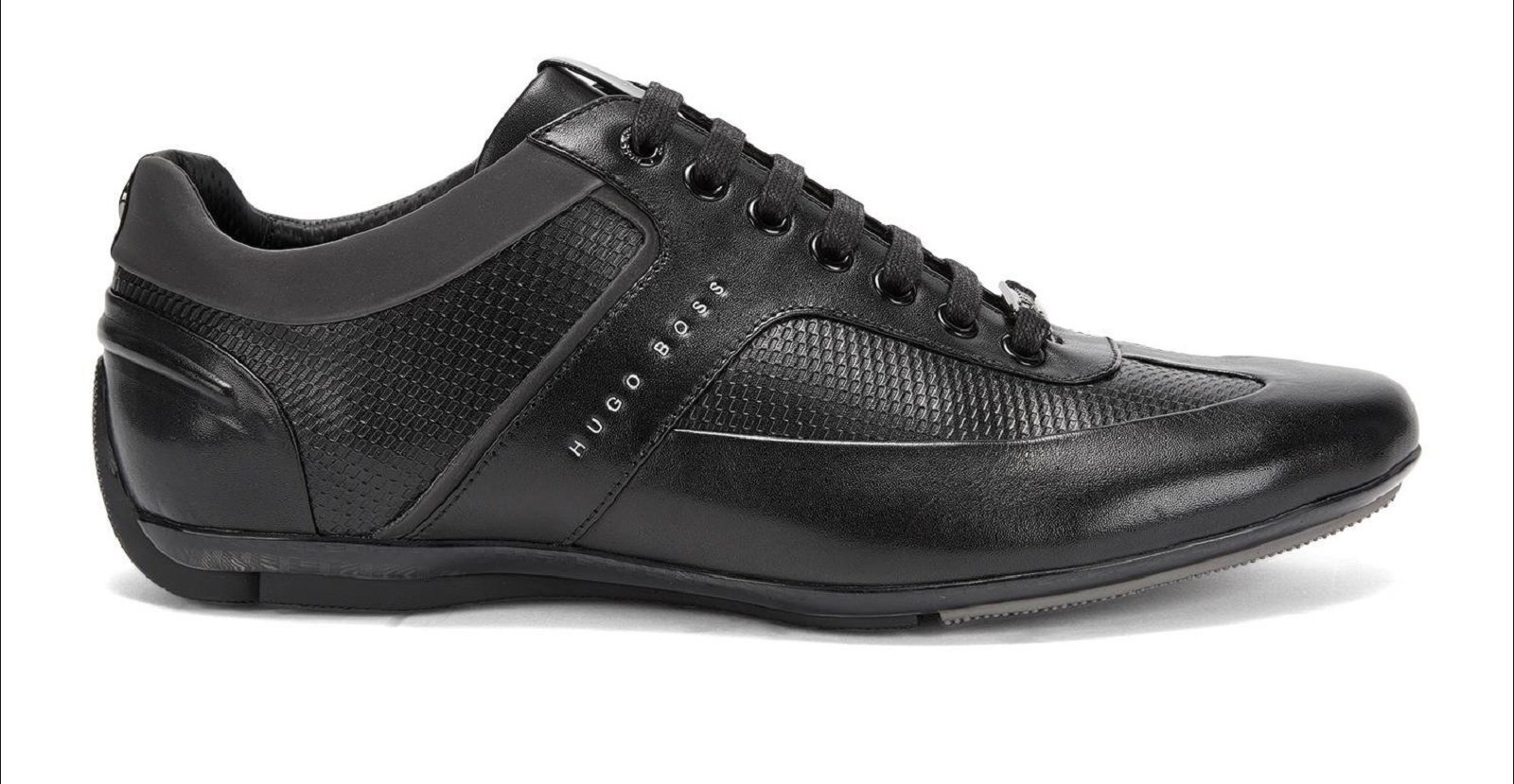 hugo boss baskets en cuir sporty lowp 50330559 chaussures pour homme. Black Bedroom Furniture Sets. Home Design Ideas