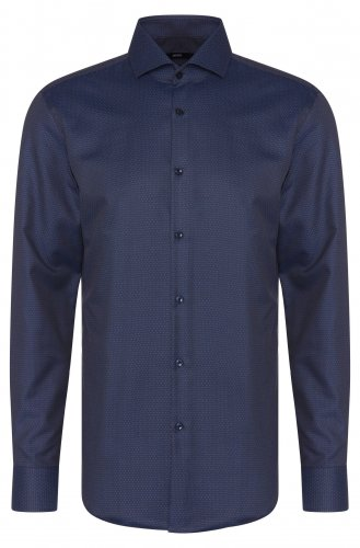Chemise Slim fit Jason marine