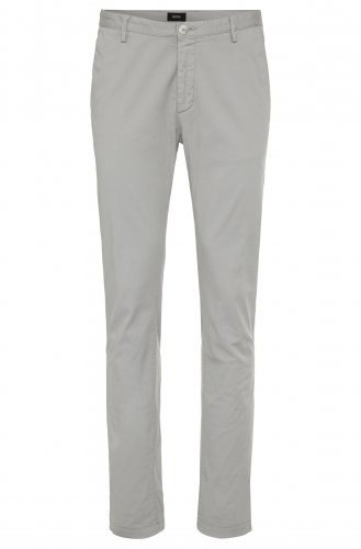 Chino Slim par BOSS Rice3 gris