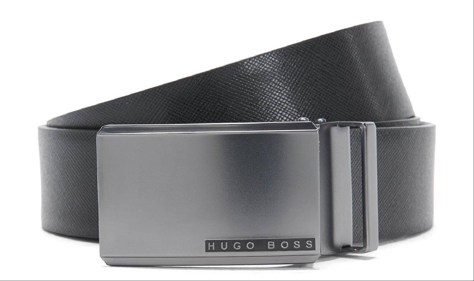 81bb8ee415e HUGO BOSS Coffret ceinture avec 2 boucles - 50327643