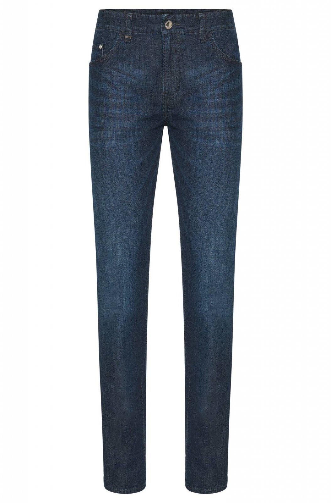 Jeans Slim-Fit marine Delaware Jeans pour homme de la marque Hugo BOSS ... ddfdb072f900