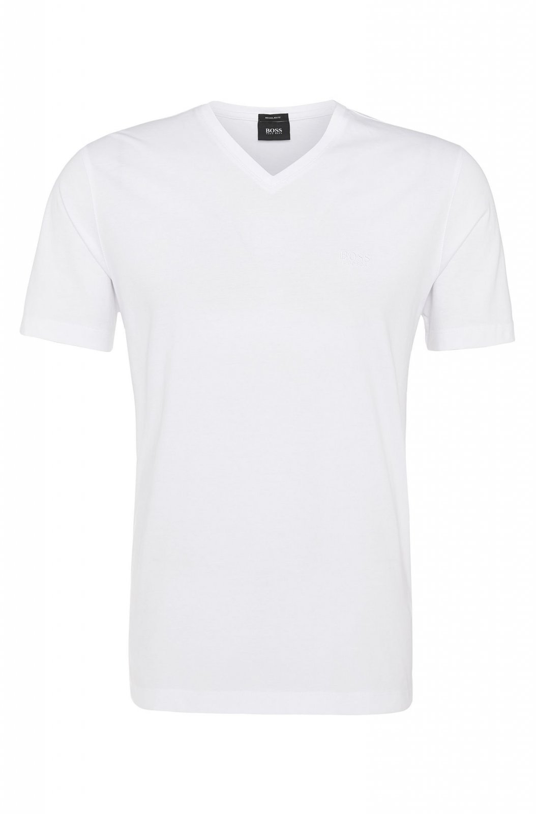 hugo boss lot 2 tee shirt hugo boss blanc 50247175 t. Black Bedroom Furniture Sets. Home Design Ideas
