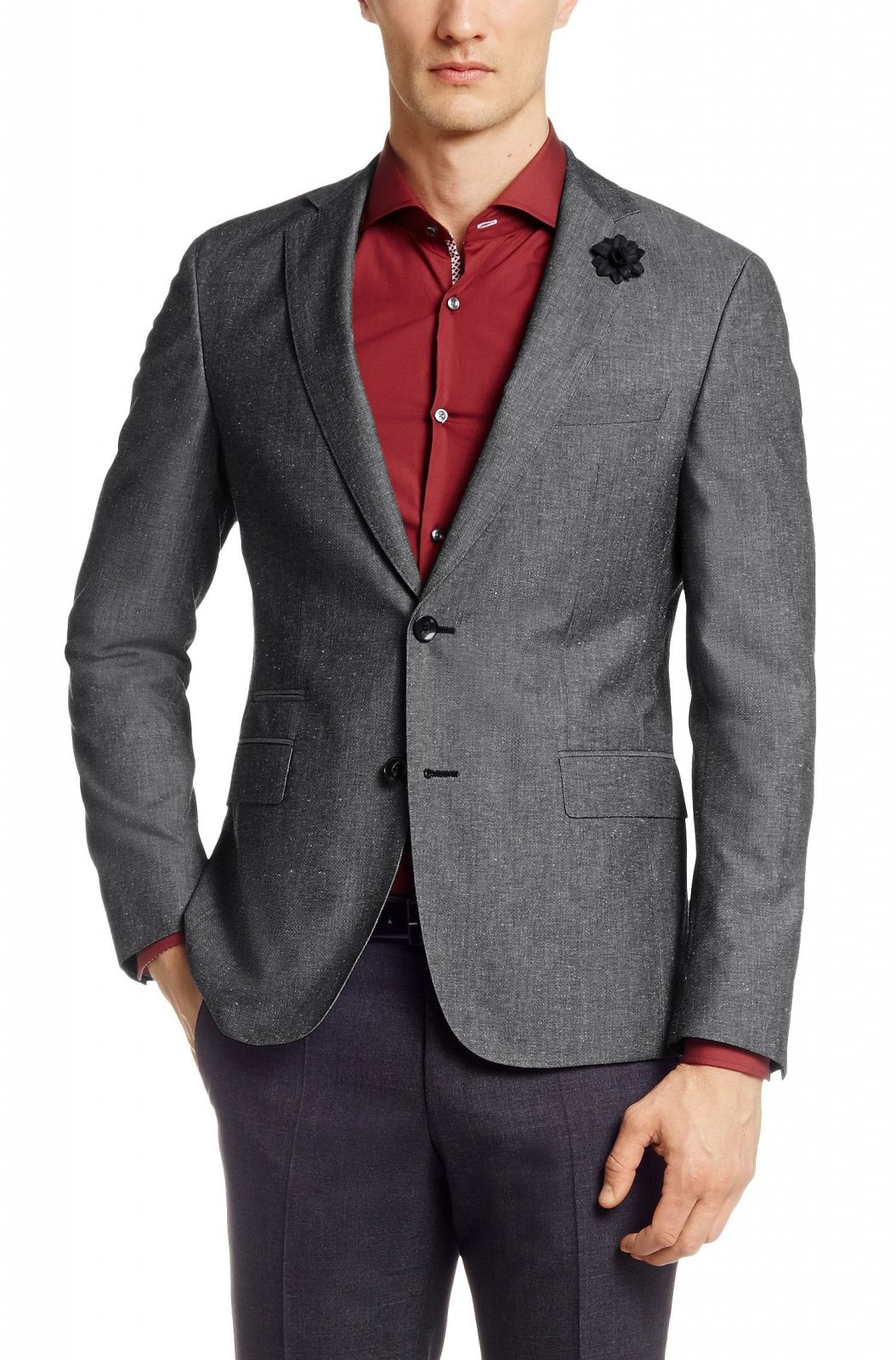check-out 2cd5e 31bc4 HUGO BOSS Veste Slim - Fit Renon