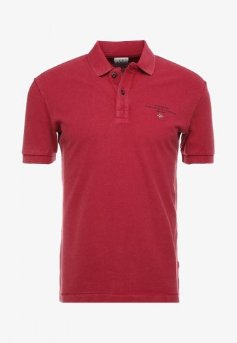 Polo manhches courtes Elbas rouge