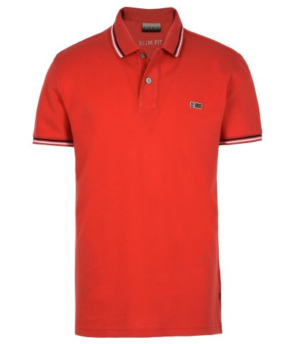 Polo strech rouge