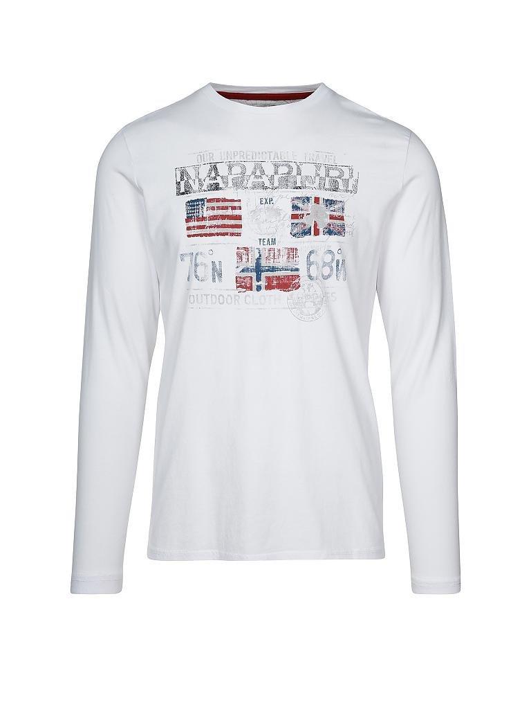 4f9ea2a14f8 NAPAPIJRI Tee-shirt manches longues blanche - SINGHI
