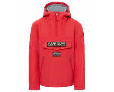 Veste Rainforest Pocket rouge