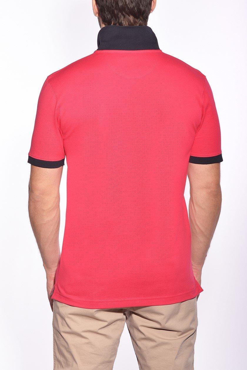 Polo, t-shirt Homme | LH T-shirt Col V En Coton LH Rose