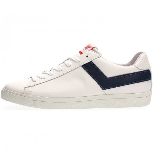 TOP STAR OX SNEAKERS Homme WHITE NAVY
