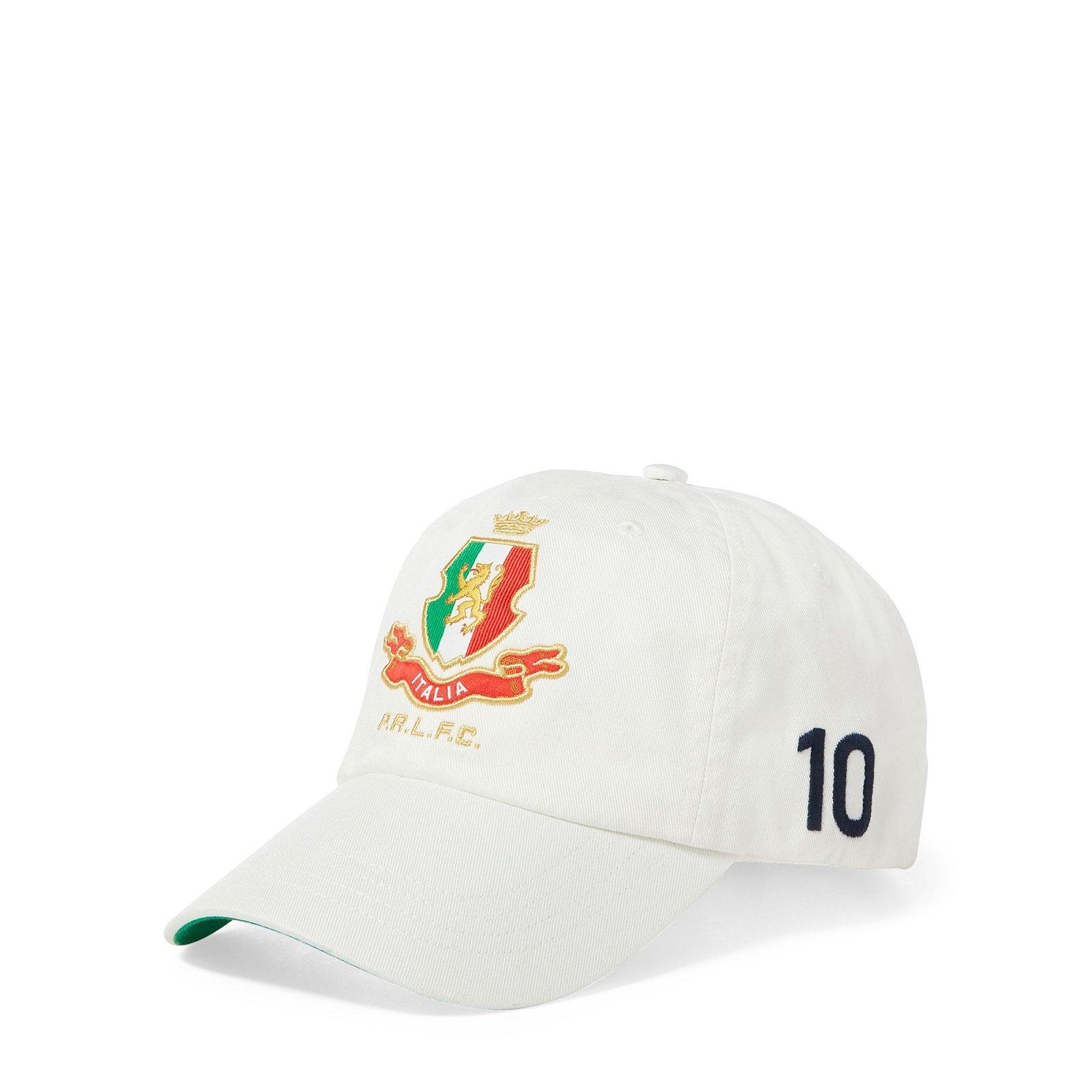 767fd2a1bfdd Casquette Italy en coton chino. Casquette coupe du monde de foot unisexe Ralph  Lauren