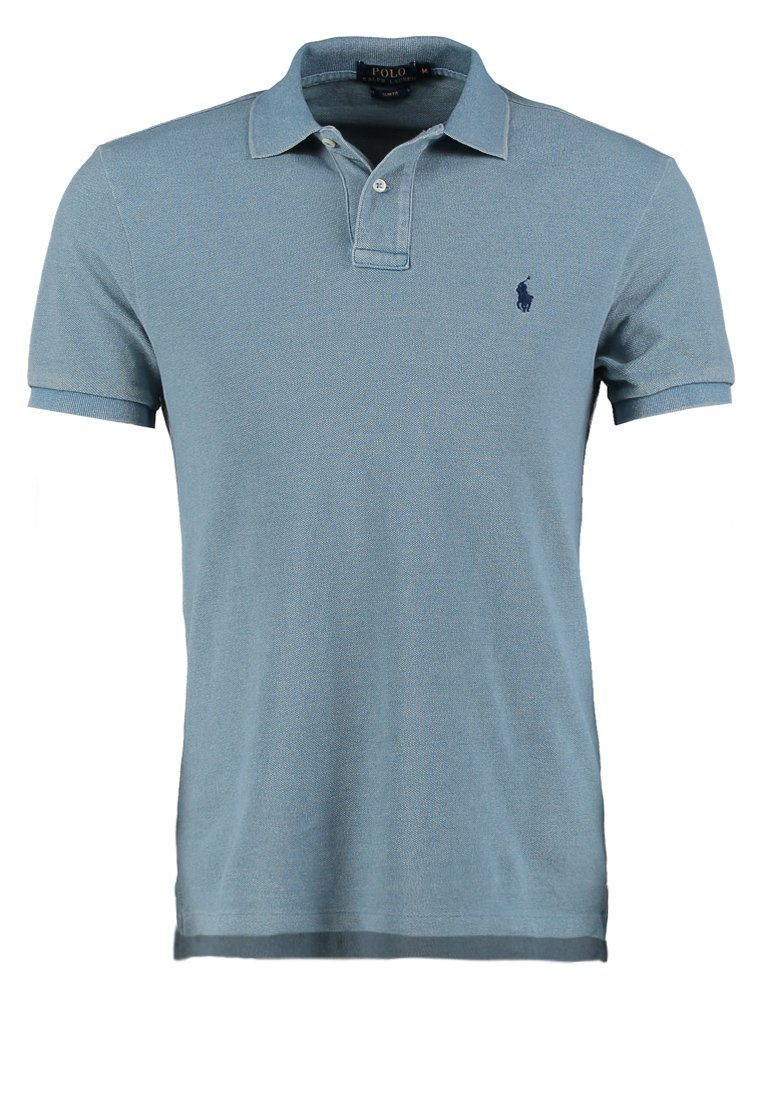 f675071b0f4 RALPH LAUREN Polo slim bleu jean. Polo slim bleu jean. Polo slim bleu jean