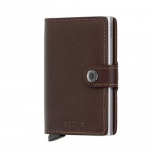 Miniwallet marron Original