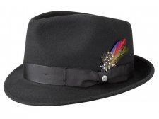 Chapeau noir Richmond Trilby