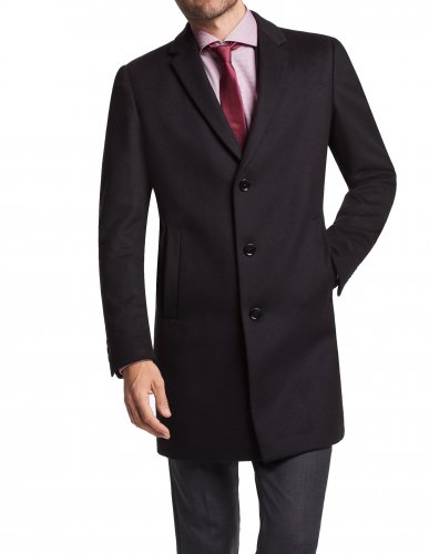 Manteau court Lawson noir