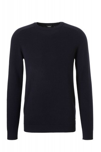 Pull marine col rond