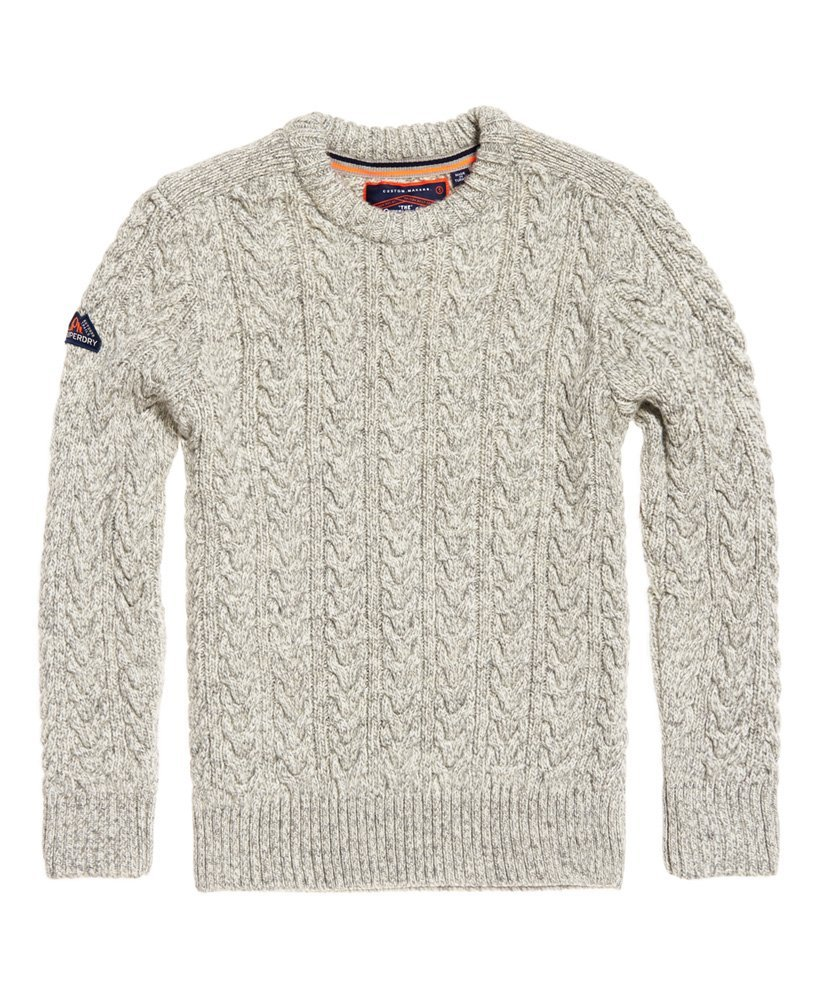 Col Superdry Pull Beige M61003nr Homme Rond Pour qwgEPxHw
