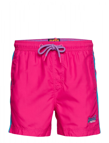 Short de bain Beach Volley rose