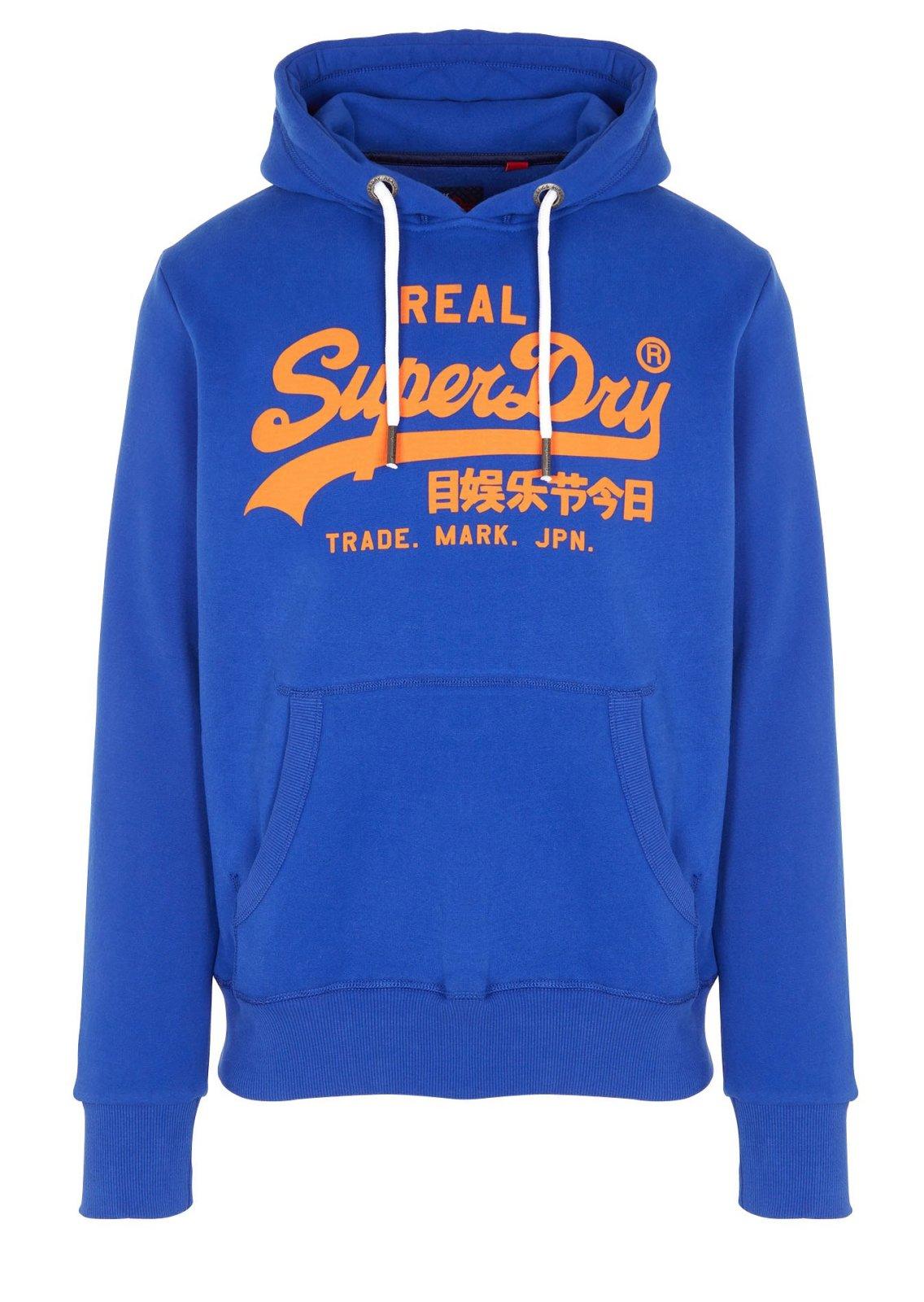 Superdry Sweat à capuche bleu - M20365IR