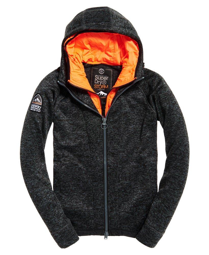 superdry sweat capuche zipp storm blizzard m20020pp sweat pour homme. Black Bedroom Furniture Sets. Home Design Ideas