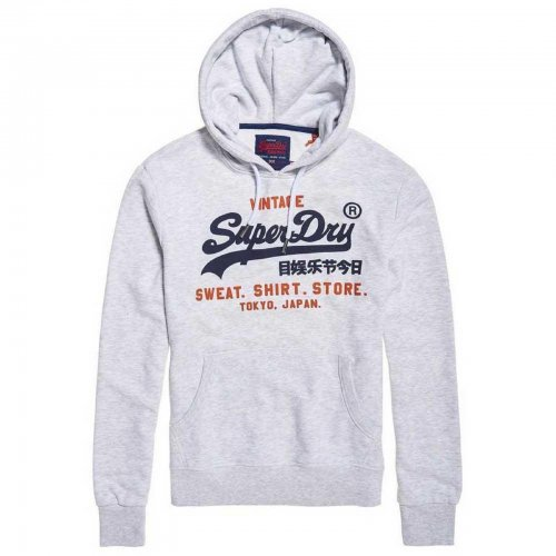 Sweat capuche blanc