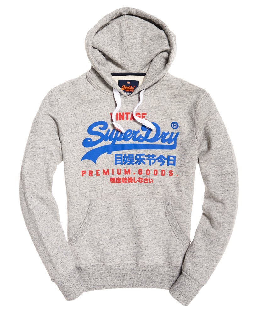 Pull Superdry gris Homme