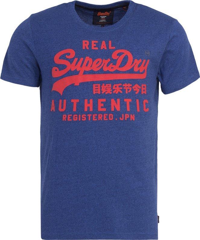 f7fd8c8a Superdry T-shirt bleu vintage - M10026XP , T-shirt pour Homme