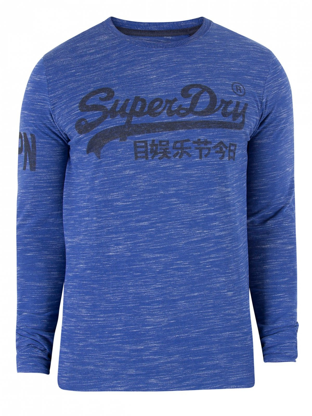 T shirt longue manche superdry homme