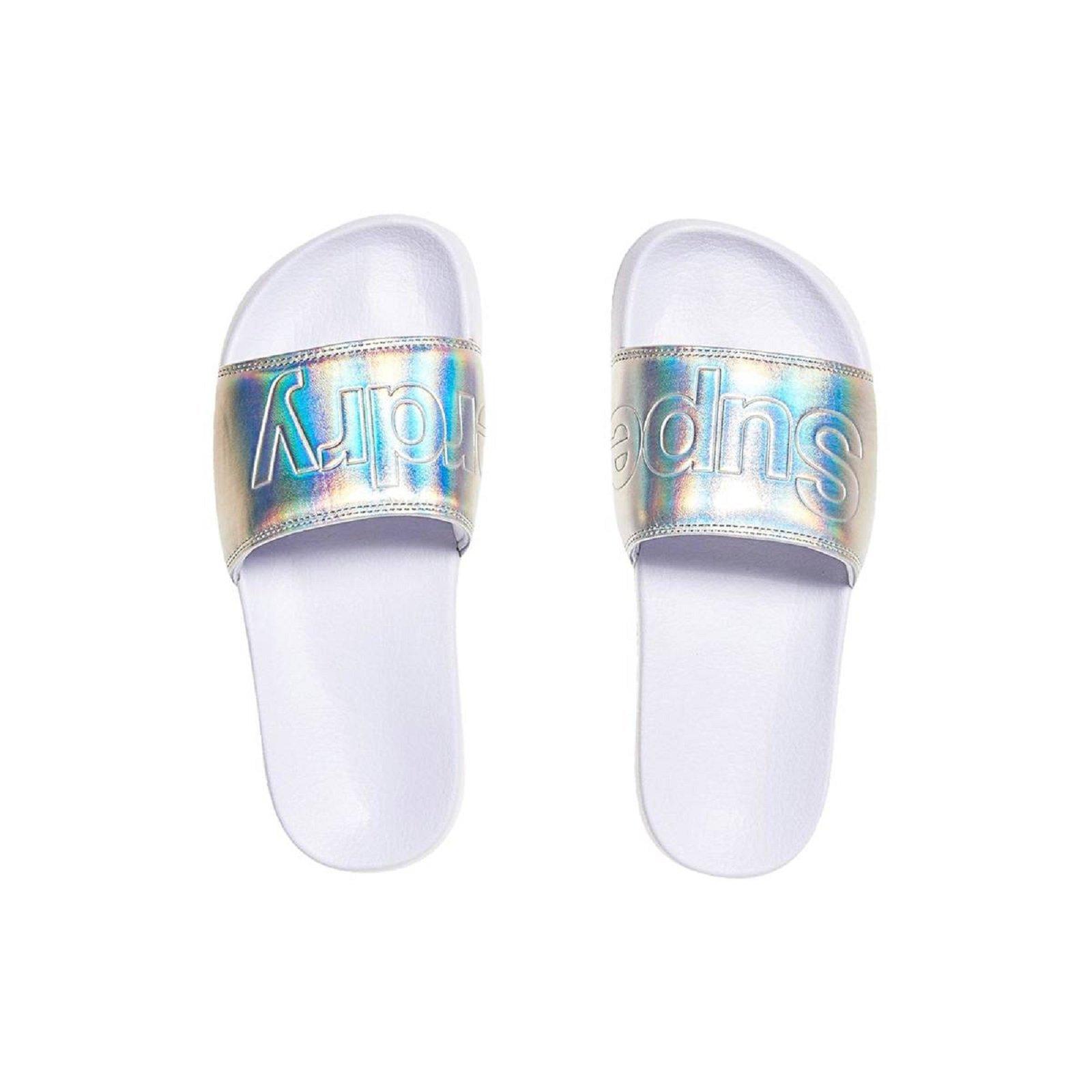Superdry Tongs Pool Slide - GF3016SQF3 , Chaussures pour Femme 64feb2f23266