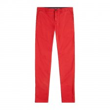 Chino Straight Denton rouge