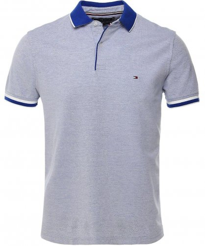 Polo Oxford bleu
