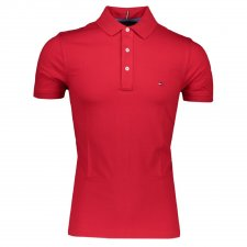 Polo slim fit manches courtes