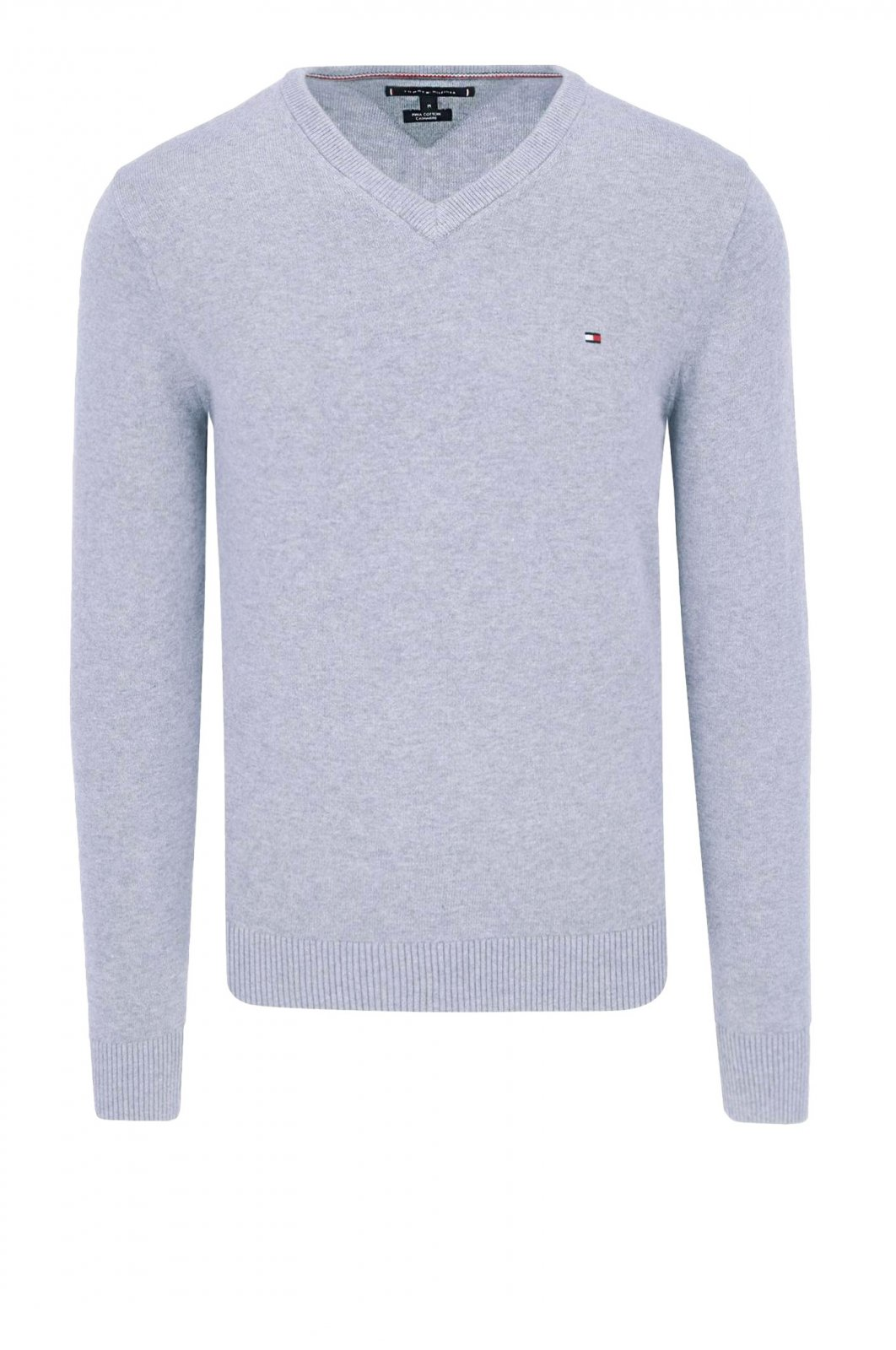 TOMMY HILFIGER Pull col V - MW0MW07858 , Pull pour Homme ce6d8e2f0f1d