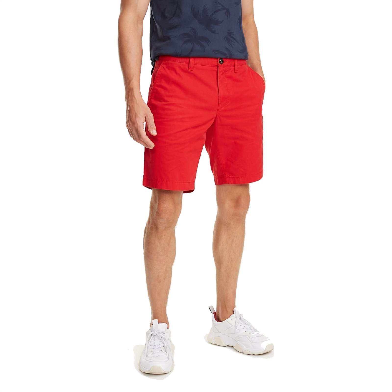 TOMMY HILFIGER Short rouge léger
