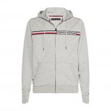 Sweat à capuche et zippe en gris ba4b870c14b