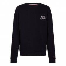Sweat col rond marine