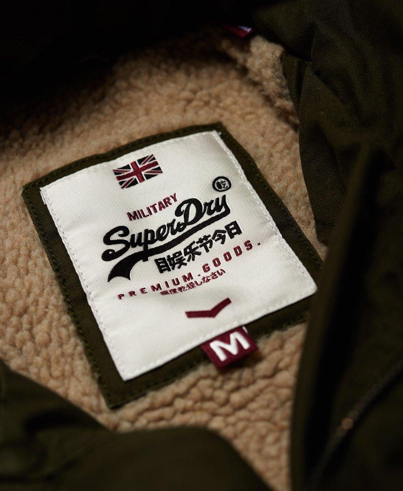 Superdry Veste style militaire épaisse Rookie - M50015TP , Blouson ... e536e0b6b08