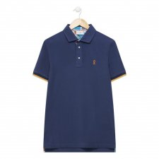 Polo Madras marine Petersham