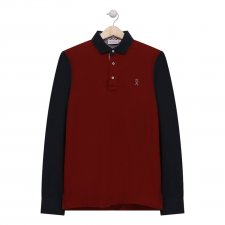 Polo Portishead rouge